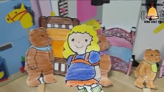 Goldilocks ve Üç Ayı Masalı - Goldilocks and the Three Bears - Eğlenceli Çocuk Masalı - Kids Stories