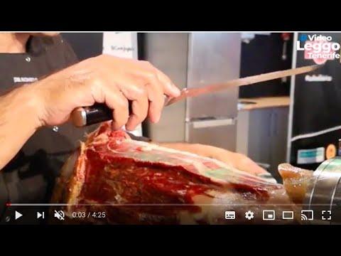 Come tagliare il prosciutto a mano