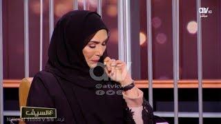 بكاء الفنانة #سميرة_أحمد بعد رسائل العتاب من زملائها بسبب اعتزالها