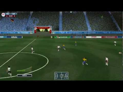 [HD] 2002 FIFA World Cup full-length gameplay - Brazil vs Germany Final