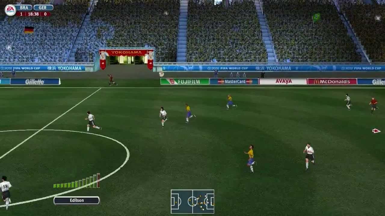 Hd 2002 Fifa World Cup Full Length Gameplay Brazil Vs