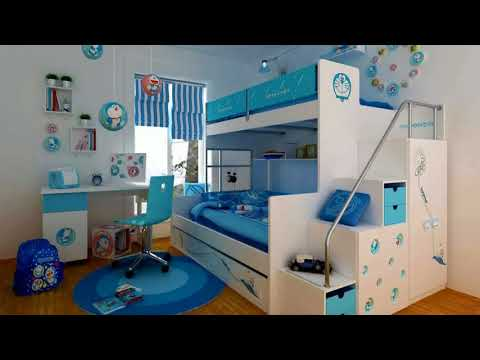 🔝 Boys Bedroom Decorating Ideas Cool Teenage Makeover Small Room Painting Tour DIY Hacks 2018