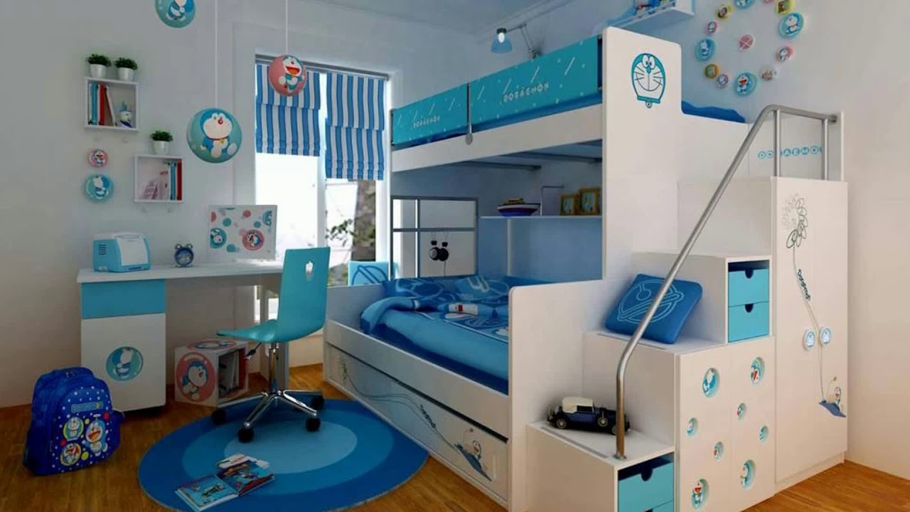 Boys Bedroom Decorating Ideas Cool Teenage Makeover Small Room Painting  Tour DIY Hacks 2018