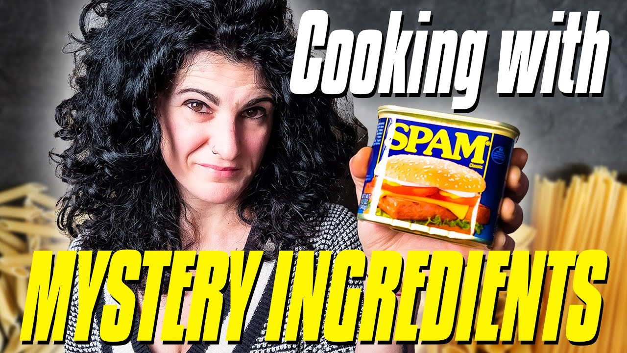 Cooking with MYSTERY INGREDIENTS   Mystery Box Challenge