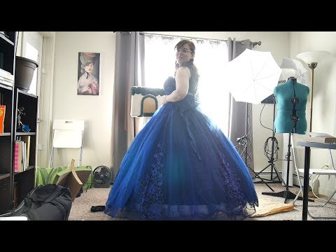 trying-on-a-hoop-skirt-&-gown-from-amazon-|-corrie-side