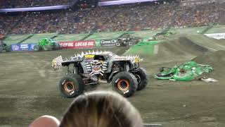 The backflip that won Max-D The freestyle Monster Jam Championship! Trips and Toys