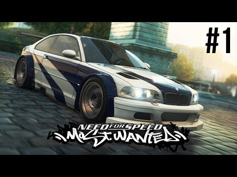 Need for Speed Most Wanted 2005 Gameplay Walkthrough Part 1 - BEST NEED FOR SPEED EVER ???