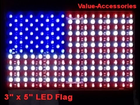 3x5 LED Flag, Value-Accessories