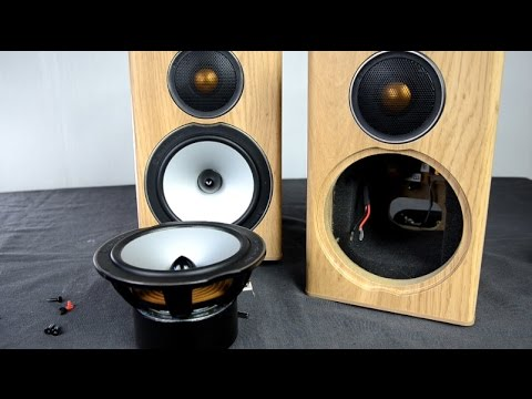 Monitor Audio Bronze Bx1 Speakers Look Inside Youtube