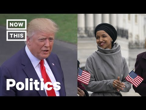 Trump Puts Ilhan Omar In Danger Again With Fake 9/11 Footage | NowThis