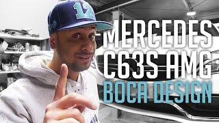 JP Performance - Mercedes C63S AMG   Boca Design Carbon Parts