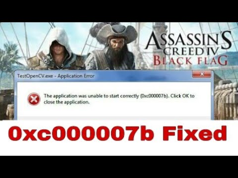 Easy Guide - How to Fix Error 0xc000007b [SOLVED] 100% WORKS