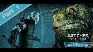 The Witcher 3: Hearf of Stone Walkthrough Gameplay Part 1