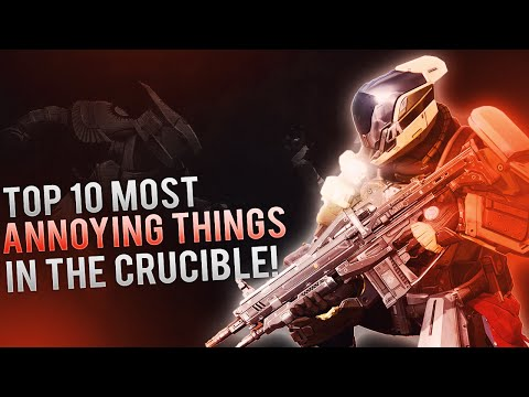 Destiny - The Top 10 Most Annoying Things In The Crucible. (April Update 2016) Destiny PvP.