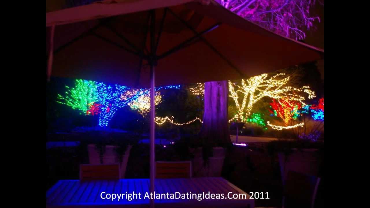 Atlanta Botanical Gardens Garden Lights YouTube