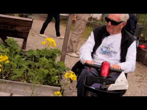 Disabled gardening in Vancouver, BC with DIGA