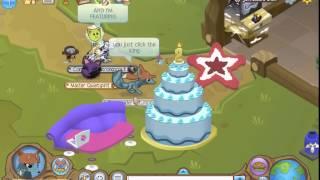 How To Burst The 2nd Birthday Cake On Animal Jam +2 Bonus Codes
