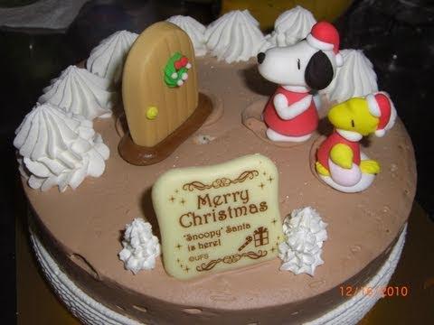 Japanese Christmas Cake (from Baskin-Robbins 31)