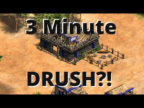 How To Do The FASTEST Drush Possible In Aoe2 DE!