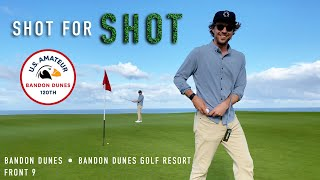 Every Shot at Bandon Dunes - Front 9 - Bandon Dunes Golf Resort - EAL Course Vlog