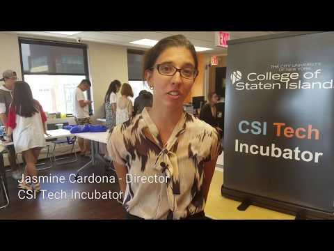 CSI Tech Incubator field trip - College of Staten Island - Study English in New York
