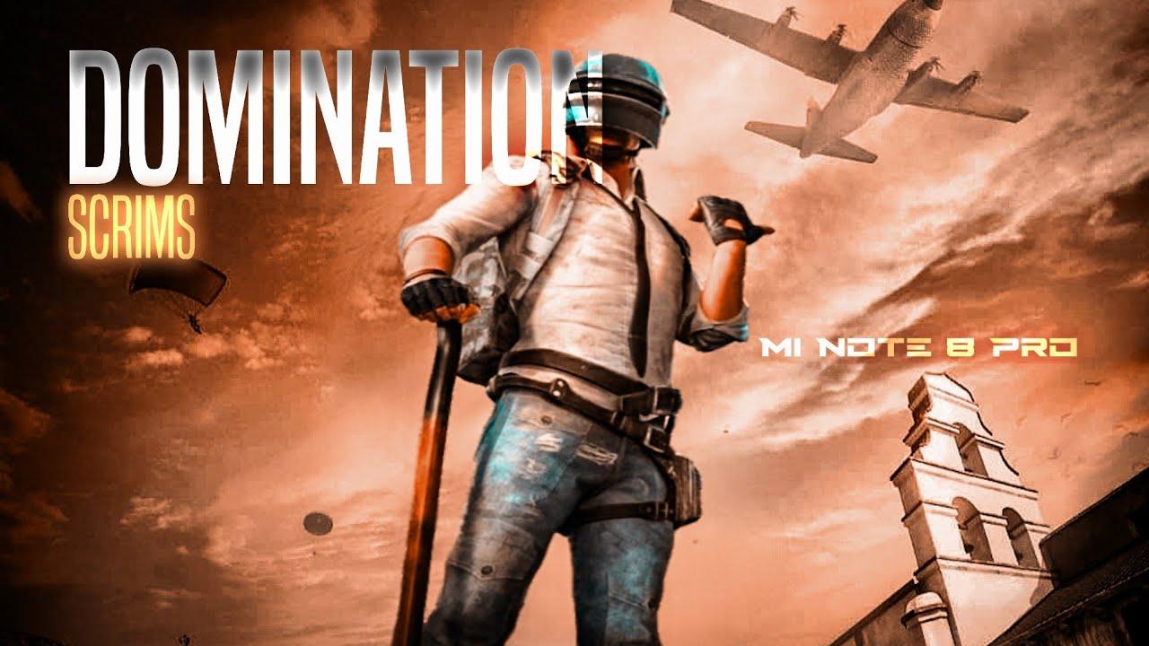 18 KILLS DOMINATION IN T1 SCRIMS : PUBGM • Mi Note 8 Pro Gameplay