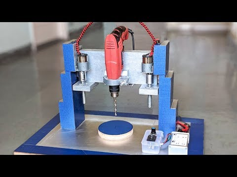 How to Make a Motorized Drill Press at Home