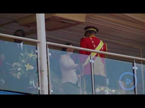 African kingdom of Swaziland celebrates King Mswati III's 50th birthday