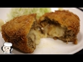 Meltyチーズメンチカツ♪  Juicy Cheese Menchi-katsu♪ ~Minced meat cutlet with …