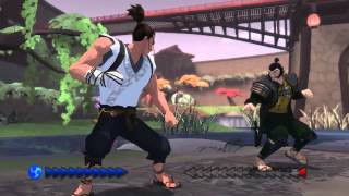 Karateka (2012) full walkthrough (part1)