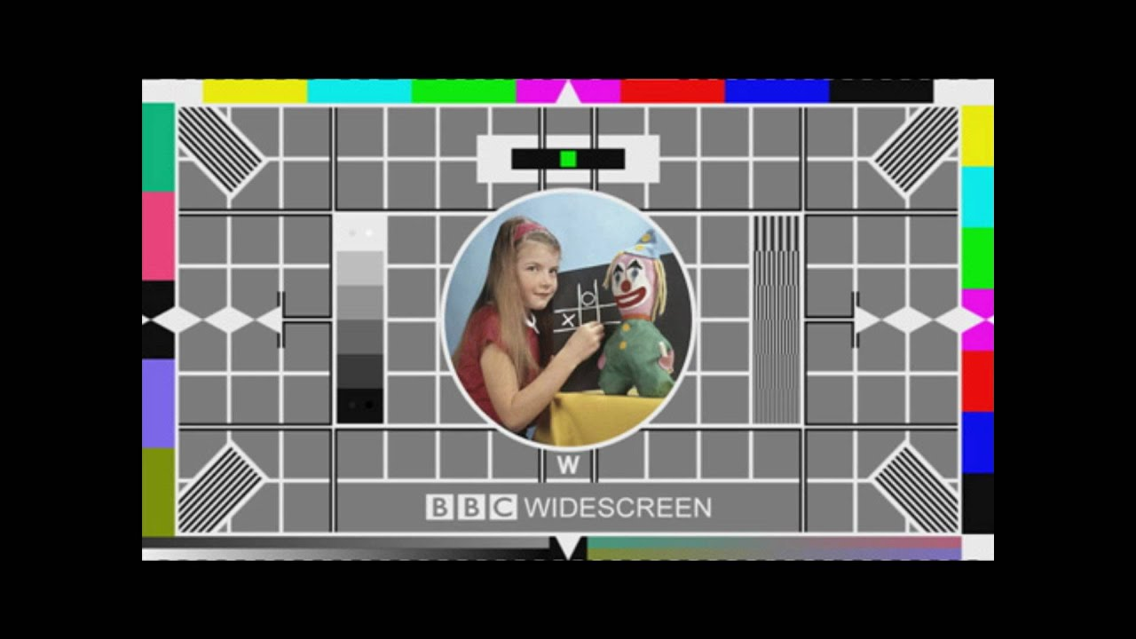 BBC Test Card W YouTube