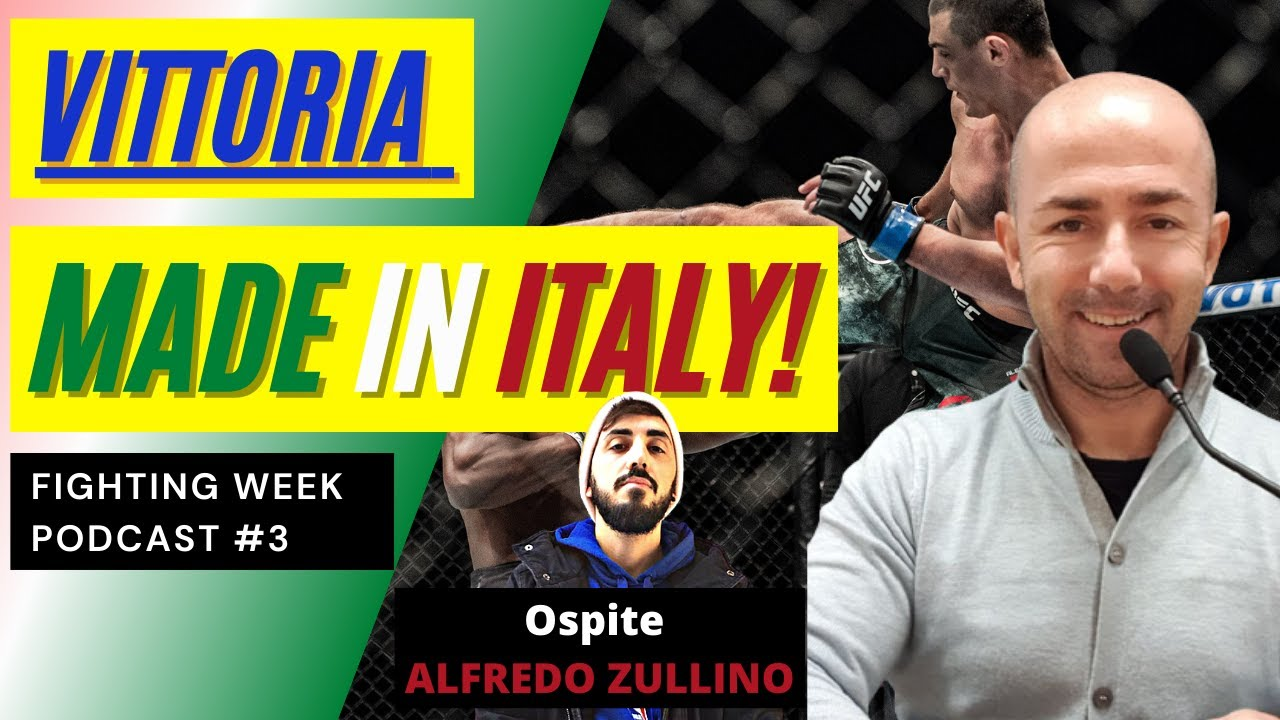 Fighting Week Podcast #3 - Vittoria MADE IN ITALY