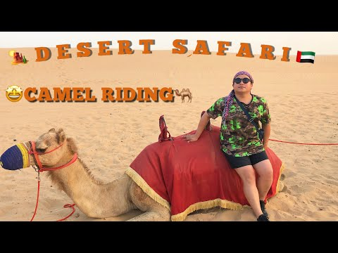 How to RIDE a camel in Dubai Desert Safari/2019🇦🇪🐫🤩