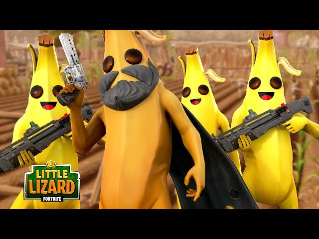 THESE SKINS ARE BANANAS!!! - Fortnite Short Films