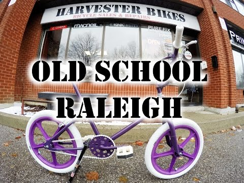 Old School 80's Freestyle BMX with New School Parts @ Harvester Bikes