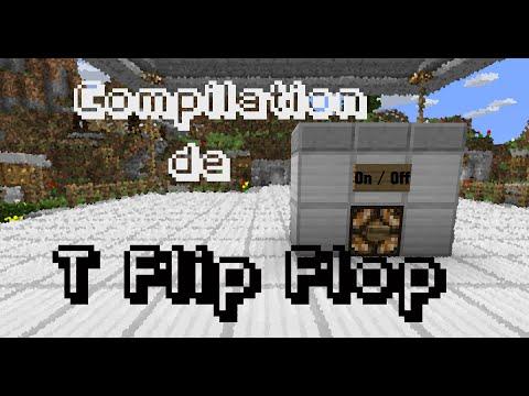 Tuto Redstone | #44 Les T-Flip-Flop (FR)