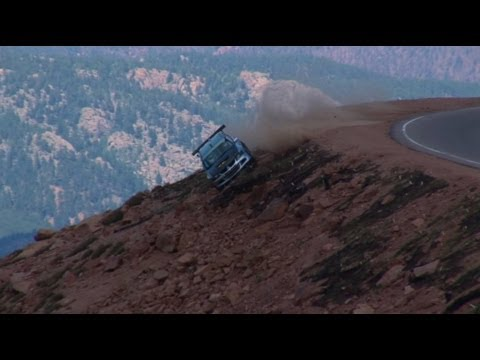 Car Crash Pikes Peak Hill Climb 2012