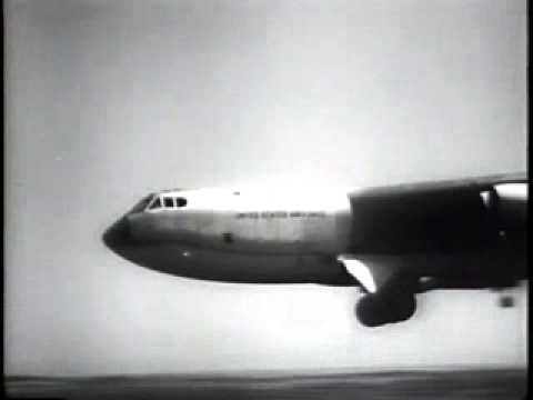 US Airforce gets a new theme song - 1957 Universal Newsreel