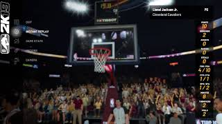 NBA 2k19 Ceveland  season 1  Gameplay Pre game show