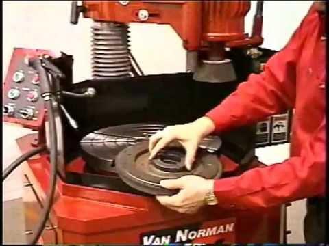 Van-Norman FG Grinder Setup And Operation