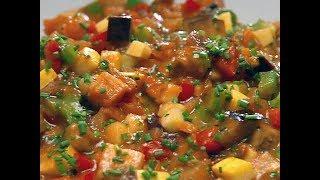 Вкусное овощное рагу на ОСНОВЕ СВЕЖИХ ОГУРЦОВ!!!  / Секреты приготовления !!!!!