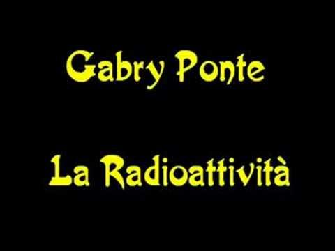Gabry Ponte - La Radioattività