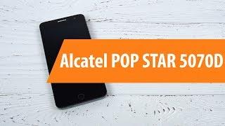 Розпакування Алкатель поп-зірка 5070D / розпакування Алкатель поп-зірка 5070D