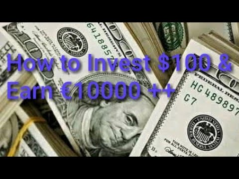 How To Invest 100 Dollars Earn Over