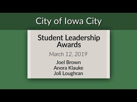 2019 Student Leadership Awards - Helen Lemme Elementary School