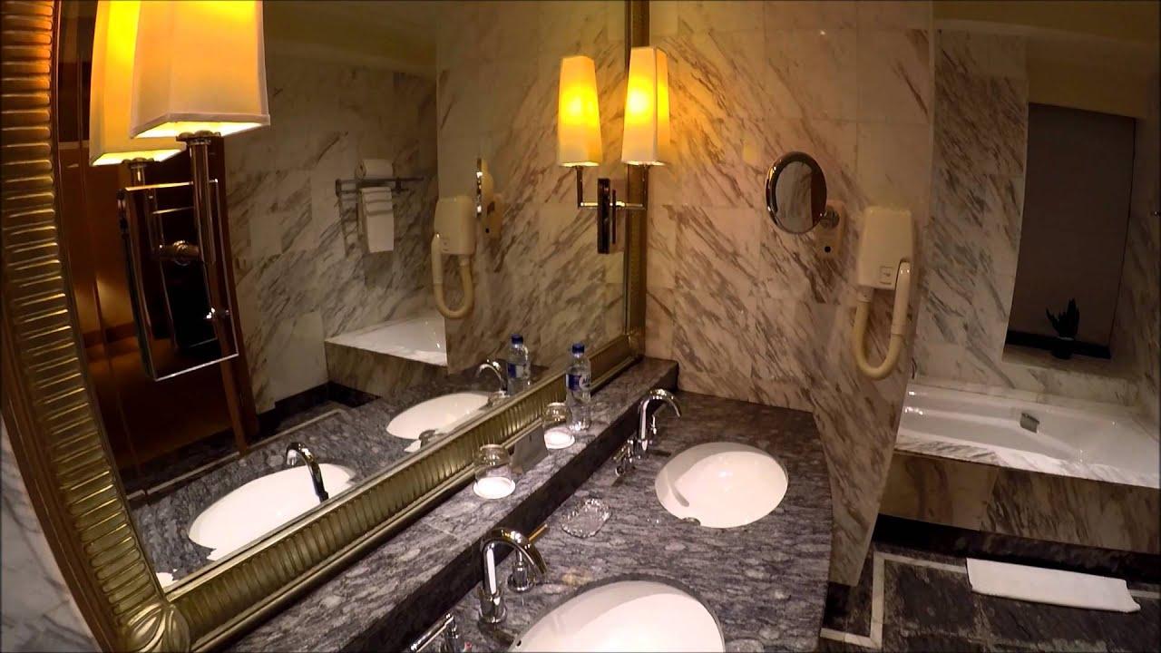 Bathroom Design Jakarta the ritz-carlton mega kuningan jakarta - hotel bathroom - youtube