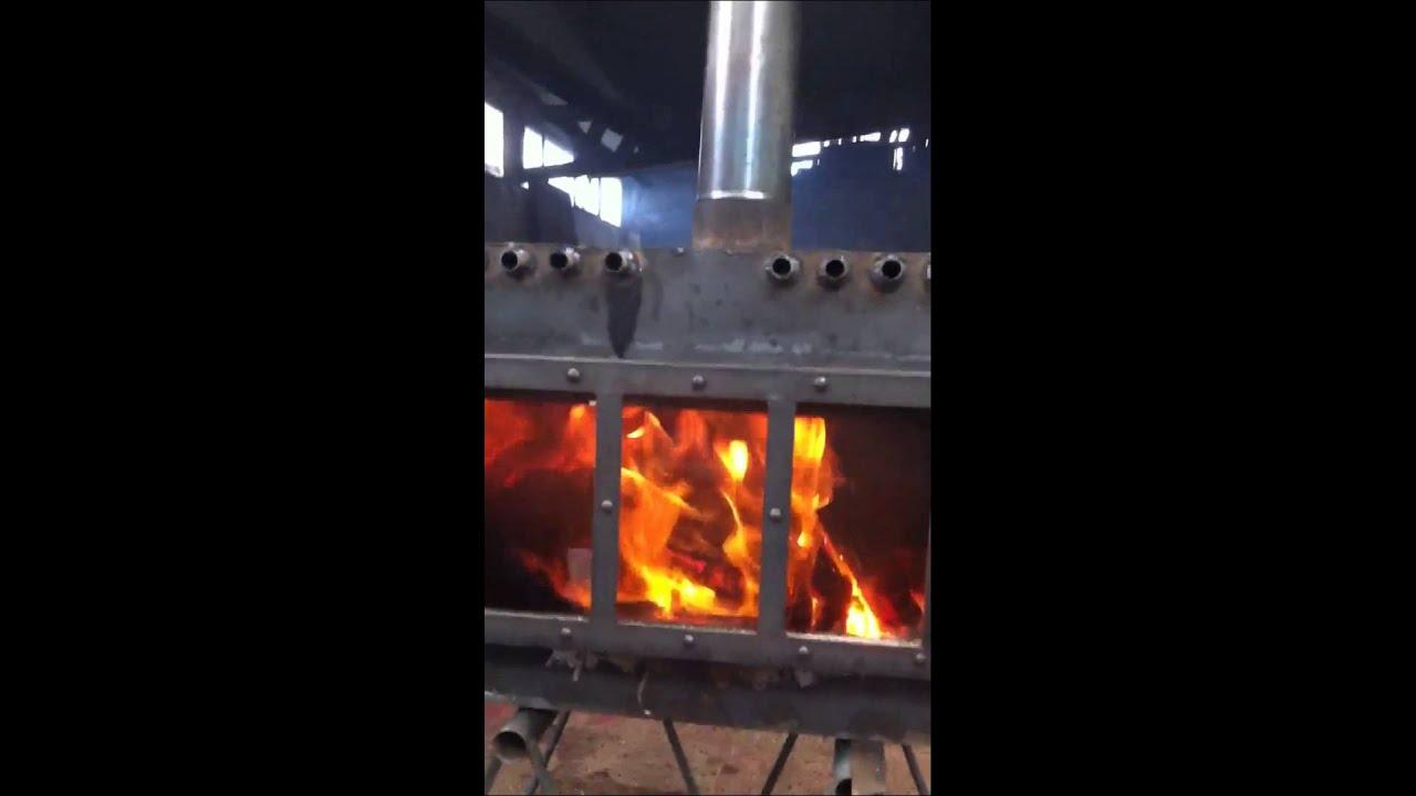 Eco estufa a le a sin humo video hd youtube - Estufas sin salida de humos ...
