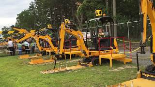 Diggerland USA, Construction Theme Park, Excavators, Tractors, Back Hoes,