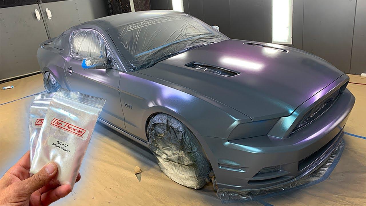 Gunmetal Car Paint