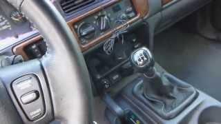 Jeep Grand Cherokee ZJ 5.2L V8 - 5-speed manual swap Explanation